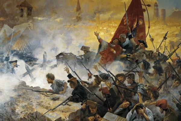 L'Onze de Setembre de 1714 d'Antoni Estruch (1909)