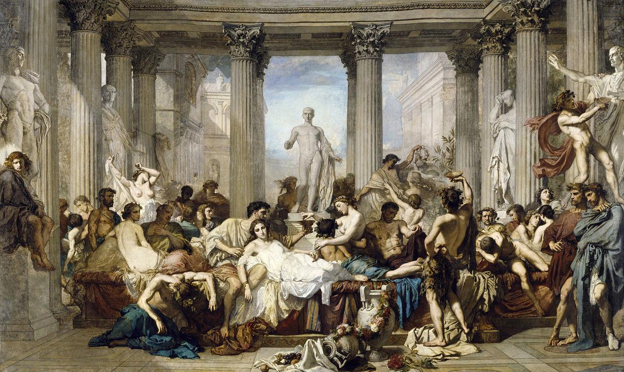 Els Romans de la Decadència - Thomas Couture