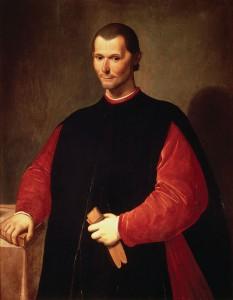 Retrat de Nicolau Maquiavel per Santi di Tito.