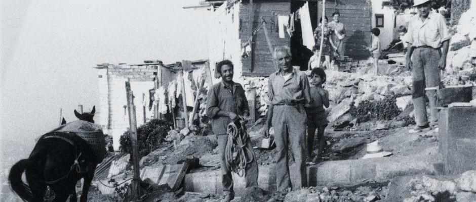 Barraques del barri dels Canons. Font Arxiu Custòdia Moreno.