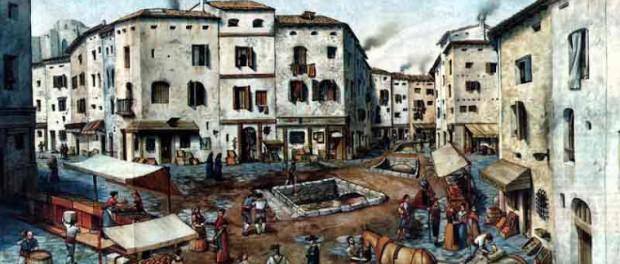 Barri de la Ribera, segle XVIII