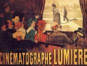 El primer cartell de cine de la història, dels germans Lumière (1895).