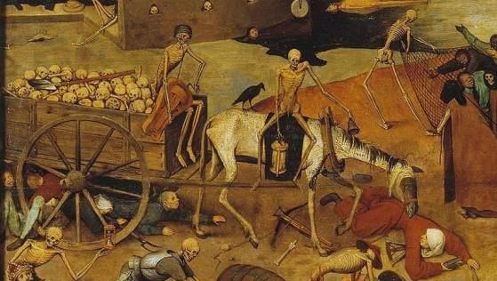 Detall del Triomf de la Mort de Brueghel el Vell - 1562