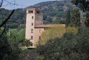 Torre Pallaresa, a Santa Coloma de Gramenet, gótic civil català - font: Viquipèdia