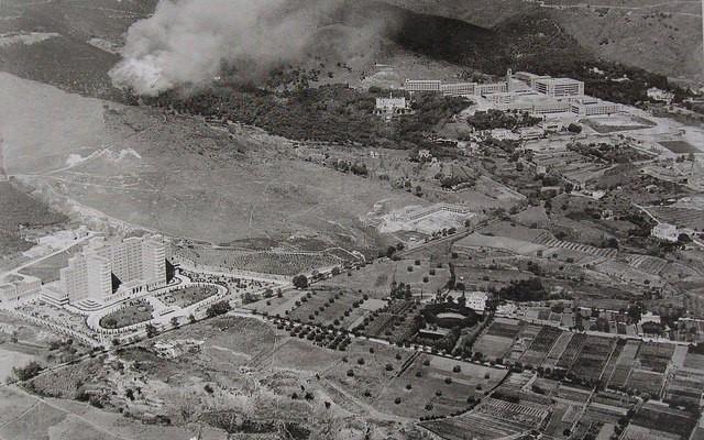 Vall d'Hebron 1958, arxiu de l'Hospital.