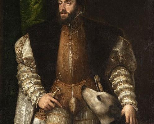 Emperador Carles, Ticià 1533