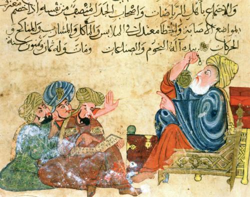 Aristòtil en una manuscrit àrab