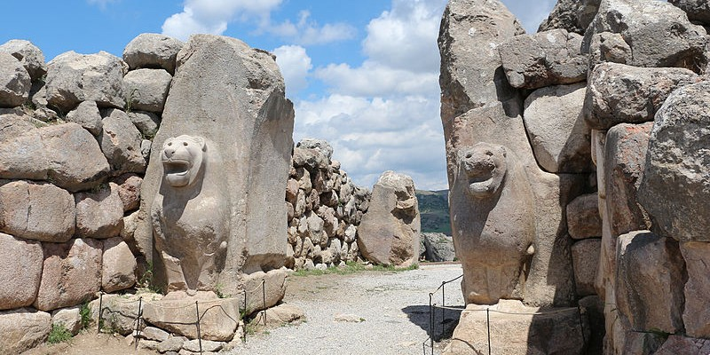 Porta dels lleons de Hatussa