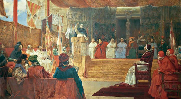 Salvador Viniegra, El Compromís de Casp, 1891. Círculo de Bellas Artes.